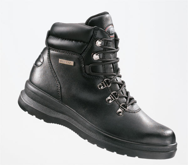 FRAMS LADIES BLACK CHUKKA BOOT 3915