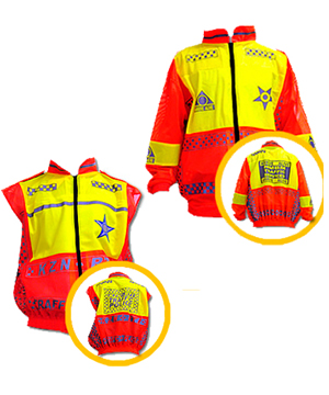 PROVINCIAL POLICE REFLECTIVE JACKET