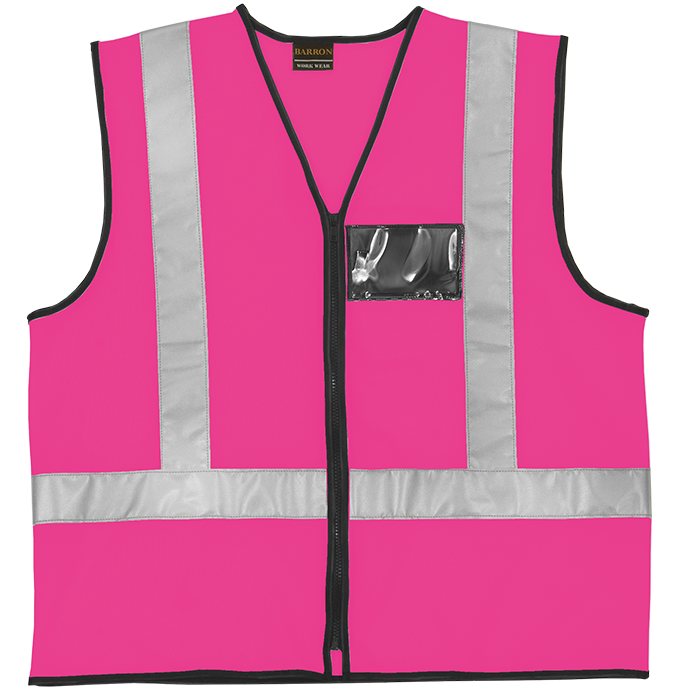 Pink Reflective Vest Simply Workwear Overalls Workwear