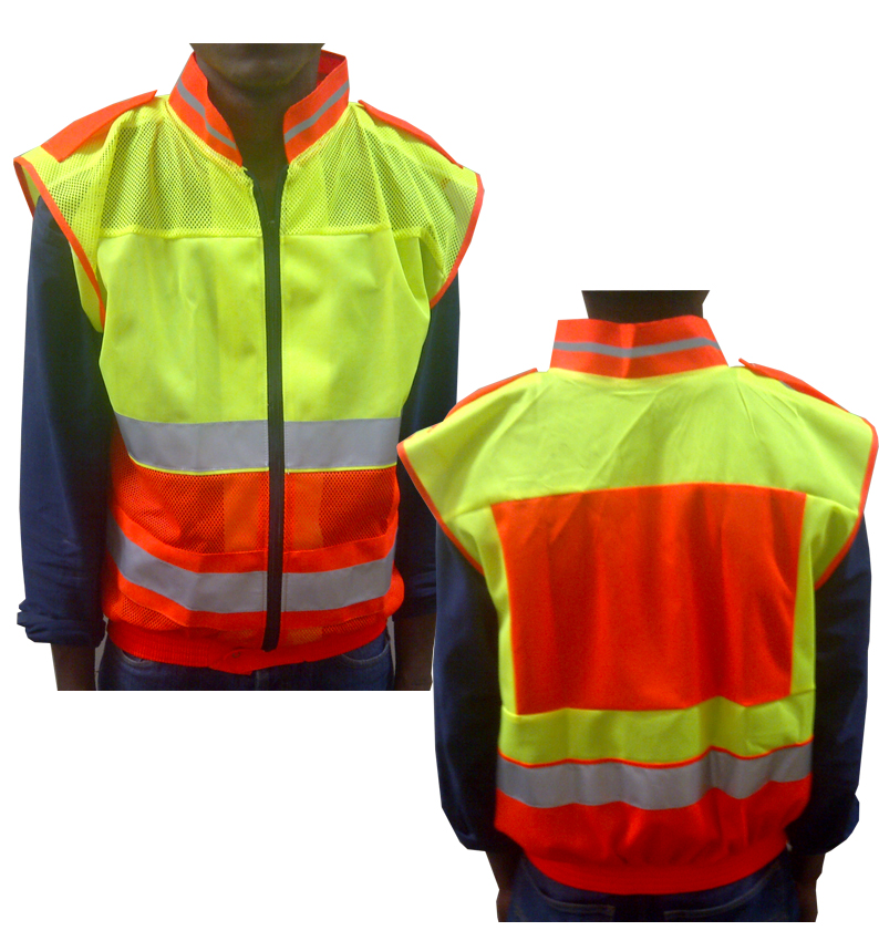 TRAFFIC STYLE REFLECTIVE VEST