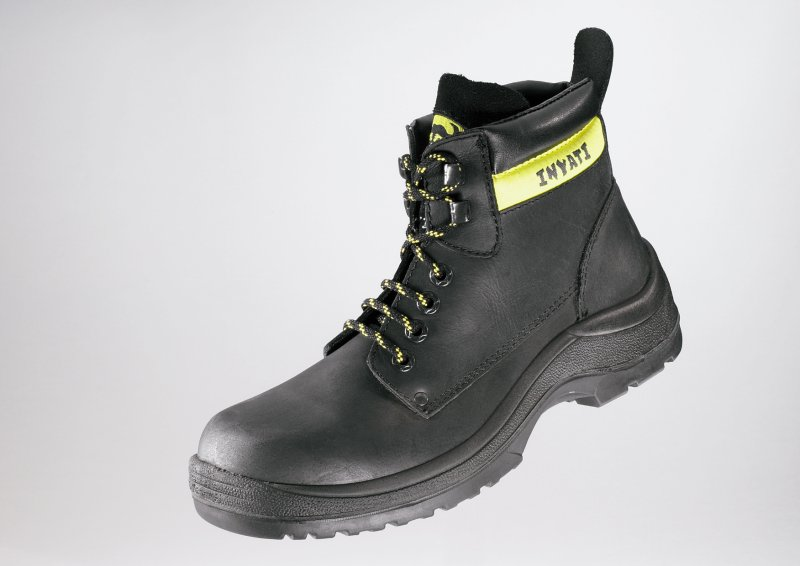 FRAMS BLACK RUBBER SAFETY CHUKKA BOOT 4060