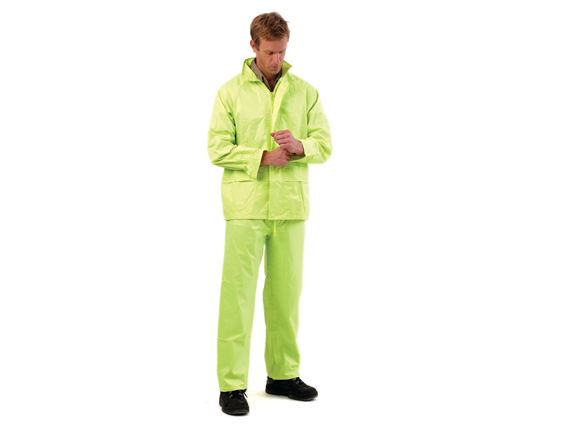 2PC HI VIS RAIN SUIT
