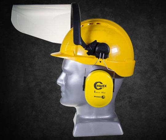 HELMET MOUNT,EAR AND FACE PROTECTOR