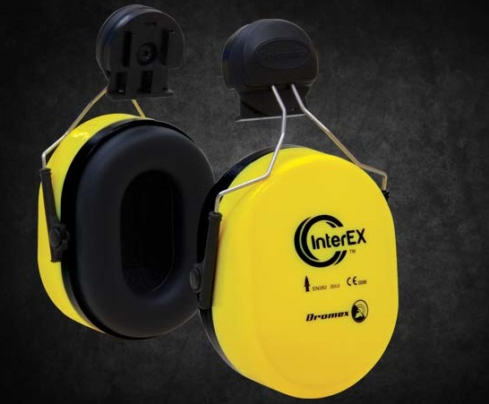 CLIP ON EAR MUFFS FOR HARD HAT