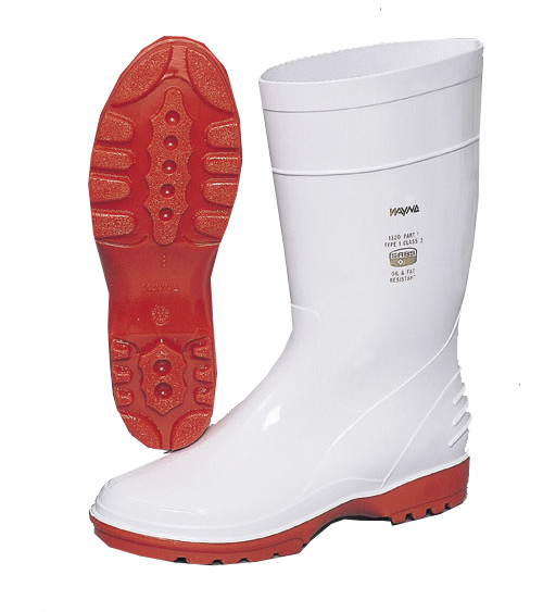 LADIES WHITE GUMBOOTS