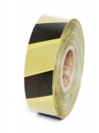 BARRIER TAPE YELLOW/WHITE